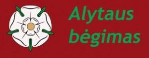 Alytaus begimas logo